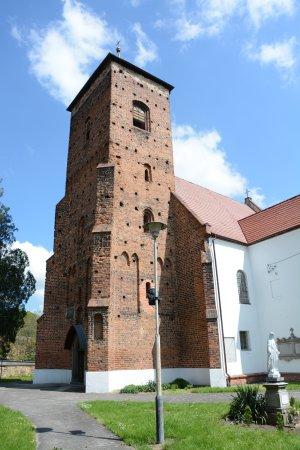 Kąty Wrocławskie, Polska: Church in Sośnica
