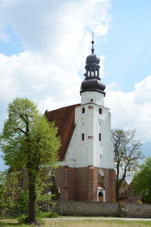 Kąty Wrocławskie, Polska: Church in Malkowice