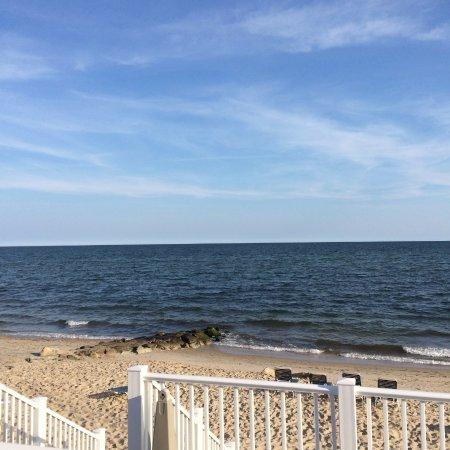 Private beach Colony Beach Motel