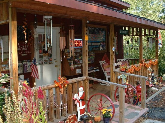 Jefferson, Carolina del Norte: Lapidary/Gift Shop