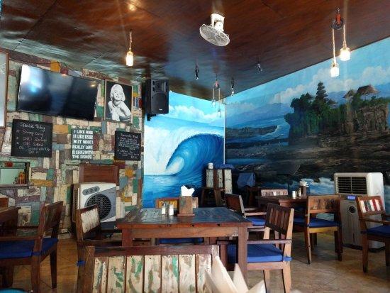 Wayan & Friends: Innenansicht Restaurant