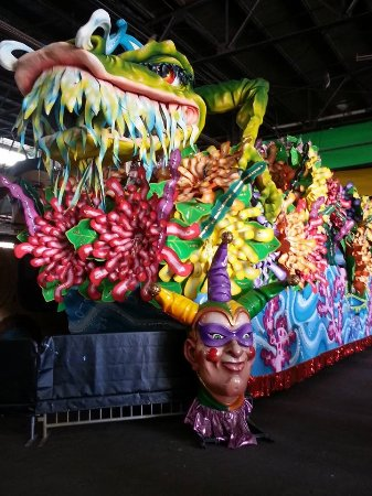 Blaine Kern's Mardi Gras World: One of the floats.