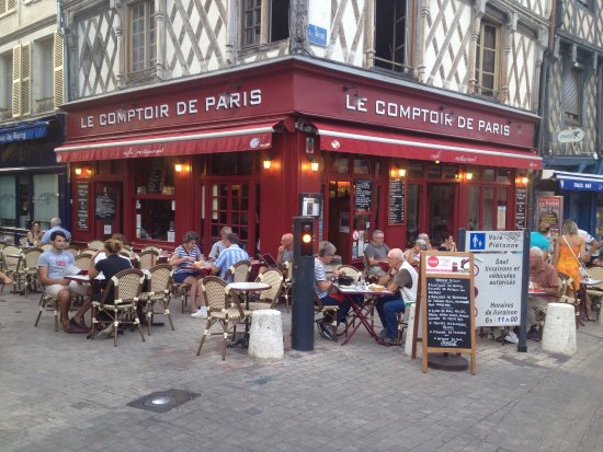 Le comptoir de paris bourges restaurant reviews phone - Le comptoir paris restaurant ...