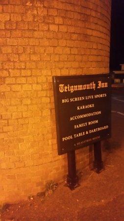 Teignmouth Inn: Insegna del locale