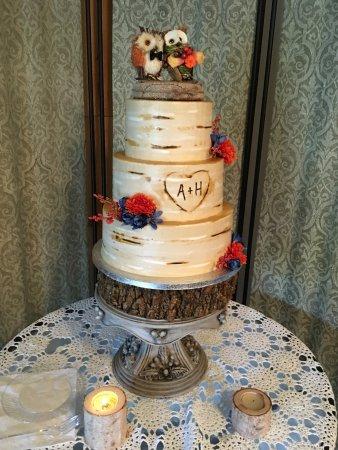 Brenda S Cakes Birch Wedding Cake