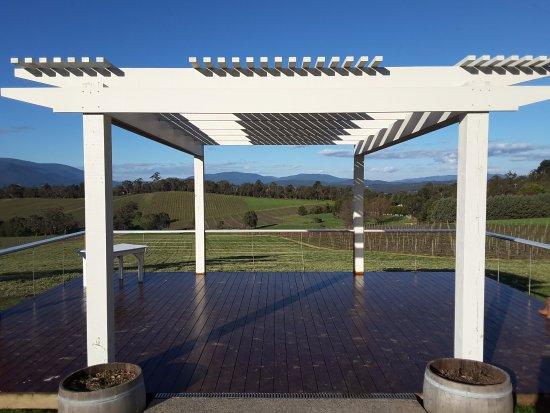 Seville, Australia: Wedding deck at Killara estate
