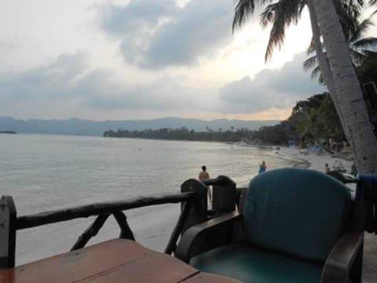 Chaba Cabana Beach Resort: chillin