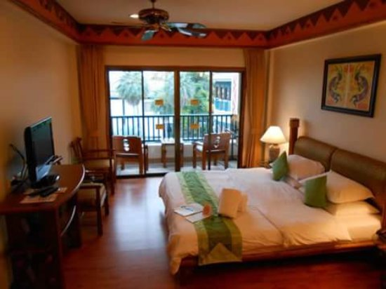 Chaba Cabana Beach Resort: room main building
