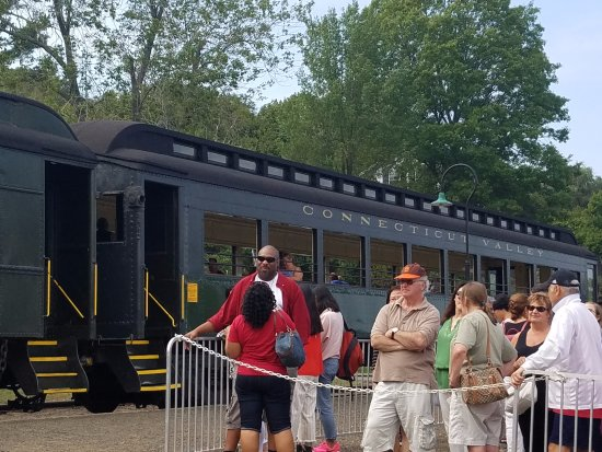 Essex, CT: Steam train
