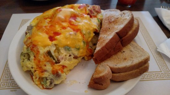 Canal Fulton, โอไฮโอ: The Really Stuffed Omelette.