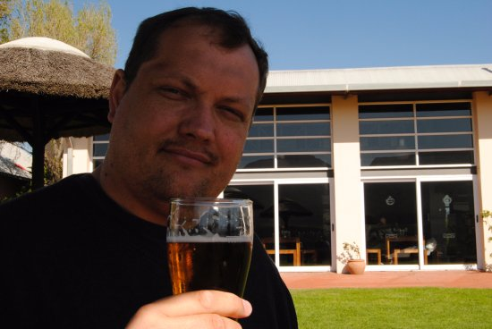 Stanford, Zuid-Afrika: Pilsner for Philip!