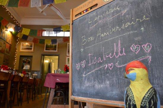 L'epicerie: Bon anniversaire Isabelle