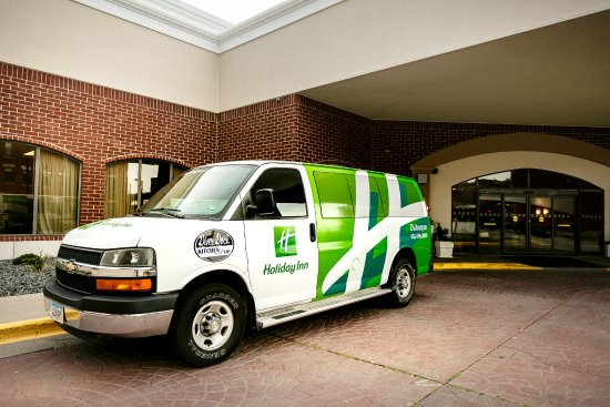 Holiday Inn Dubuque: We provide a free local area shuttle.