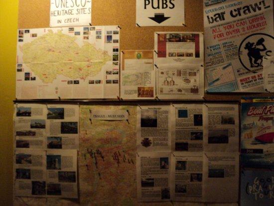 Hostel Marabou : Es la única que tomé para tener información de la ciudad