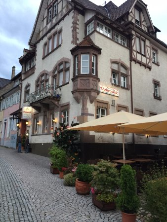 Gernsbach, Allemagne : Outside restaurant