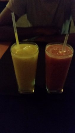 Wild Ginger: Fresh juices were amazing!