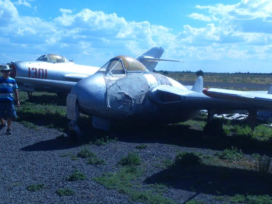 Planes of Fame Air Museum : DH Vampire in need of some TLC