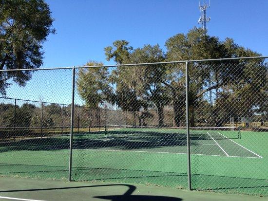 De Leon Springs, Флорида: Tennis Courts