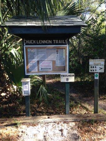 De Leon Springs, Флорида: Mountain Bike Trails