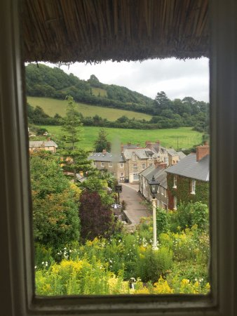 Branscombe, UK: View of village from our room