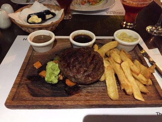 Helvetia Restaurant Steak And Chips