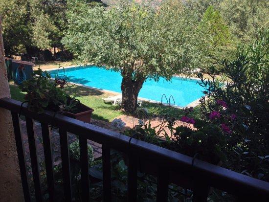 Hotel Rural Xerete: Piscina desde habitación 3