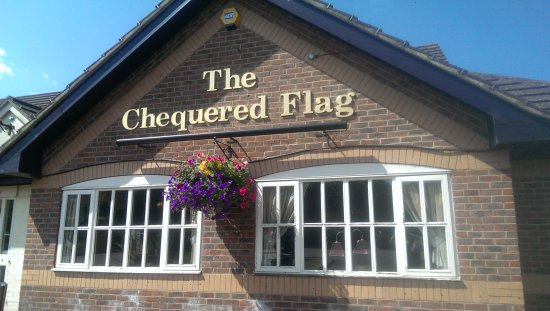 Brackley, UK: The Chequered Flag