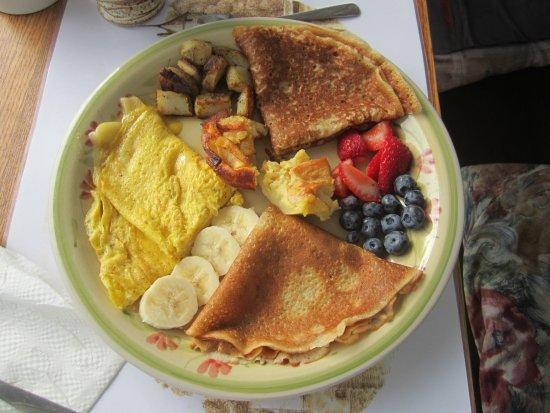 Piopolis, Canadá: assiette petit déj'