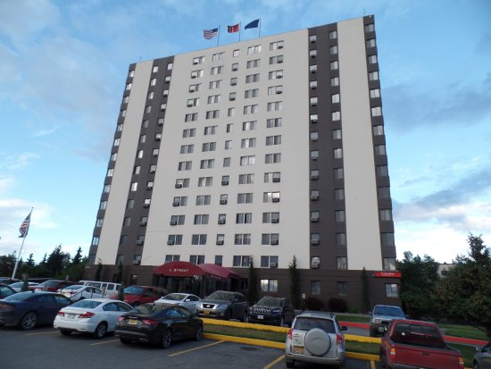 Inlet Tower  Hotel & Suites: front hotel