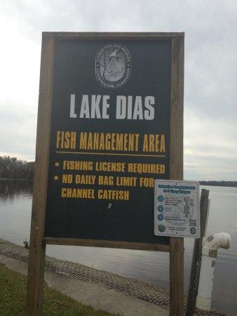 De Leon Springs, FL: Lake Dias