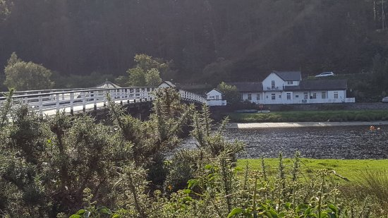 Penmaenpool, UK: View from the other side of the Toll Bridge.