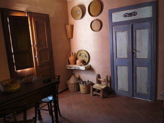 Riola Sardo, İtalya: Sala pranzo