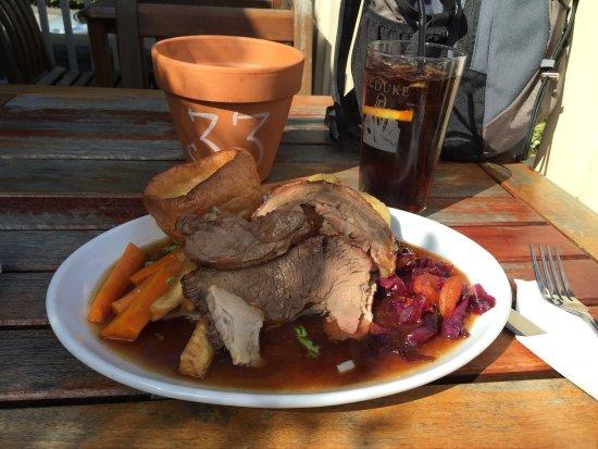 The Duke: Sunday lunch