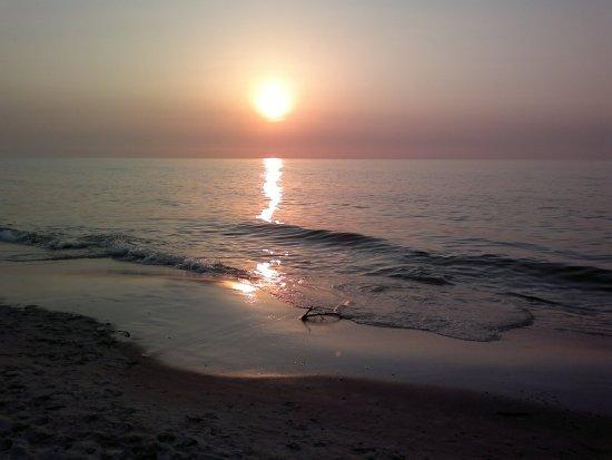 Łeba, Polska: Plaża A