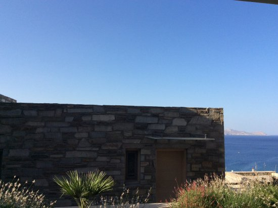 Lindos Blu: The view from room E 251