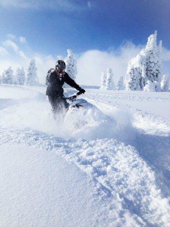 Brandin' Iron Inn: Snowmobile adventures start here