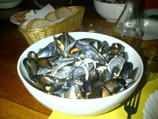 Saint-Philibert, Francia: Des moules exquises