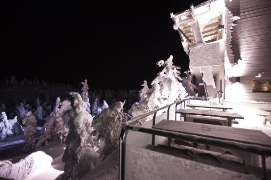 Kuusamo, Finlande : Летние столики