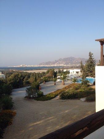 Agios Prokopios, Hellas: Vista dal terrazzino della camera