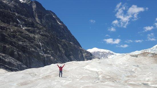 Cochrane, Chile: Glaciar Calluqueo