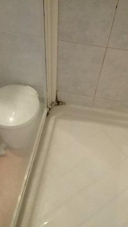Carnoux-en-Provence, Francia: Pourriture sur les joints de douche