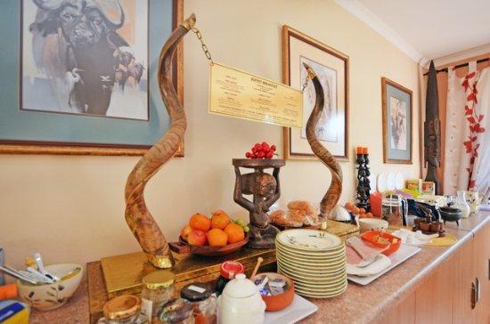 Cherry Tree Cottage BB Dining Room Buffet Breakfast