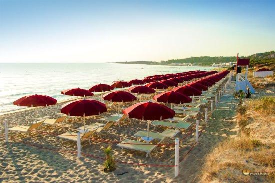 Padula Bianca, Itália: Iride Beach Gallipoli