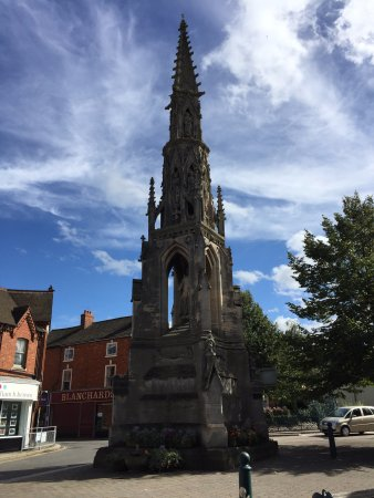 Sleaford, UK: The Handley Monument