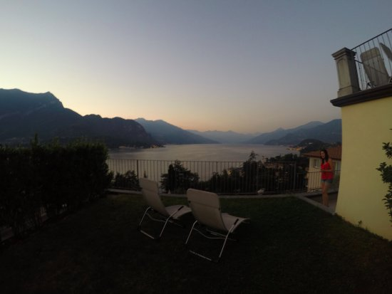 Borgo Le Terrazze: Private garden with a view