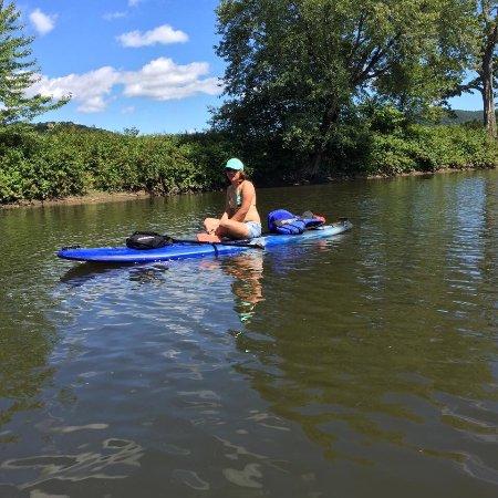 Sutton, Canadá: Canoe & Co.