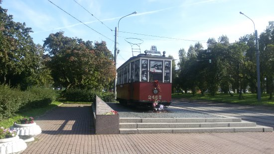 Blockade Tram Monument