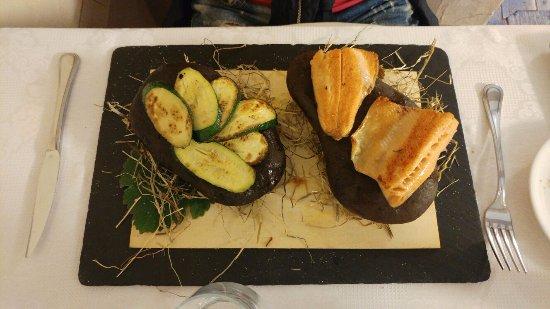 Angolo Terme, إيطاليا: piatti del menu' del ristorante