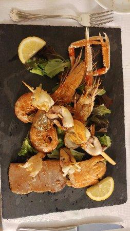 Angolo Terme, Italia: piatti del menu del ristorante