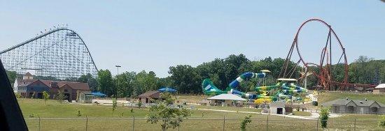 Holiday World & Splashin' Safari: Roller Coaster Collage